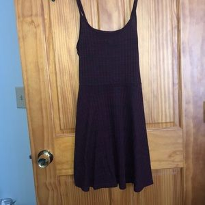 Maroon tank top dress